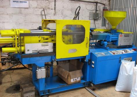 Bioplast extruding machine