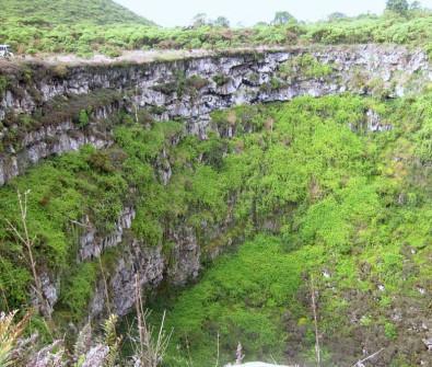 1 of 2 craters at Los Gemeles, Santa Cruz