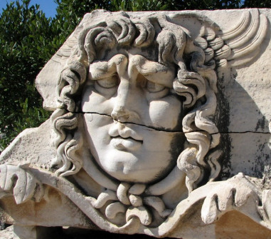 Famous icon of Didyama, Turkey