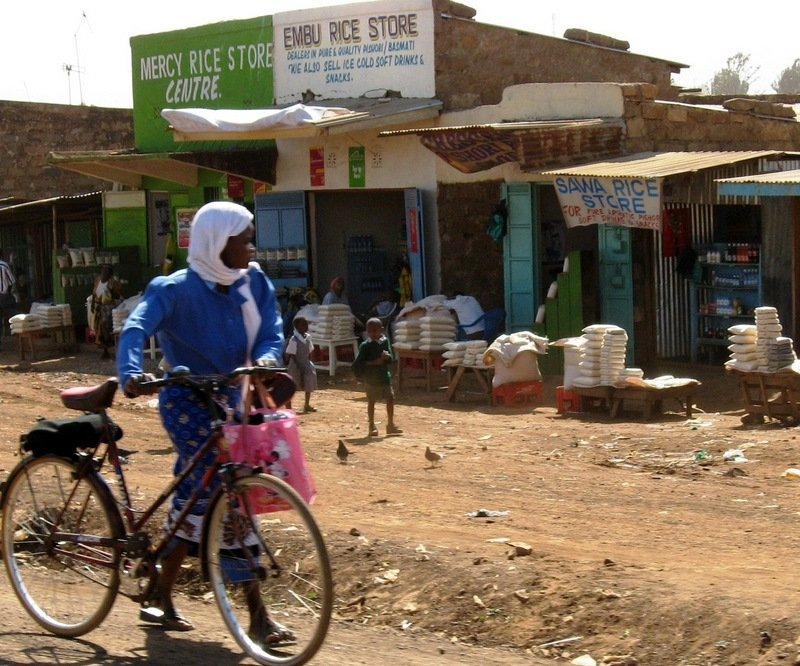 Rural Kenya Starts on Edges of Cities