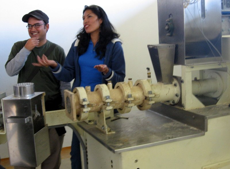 Peru Successes: Clarita's Mix Built New Mill