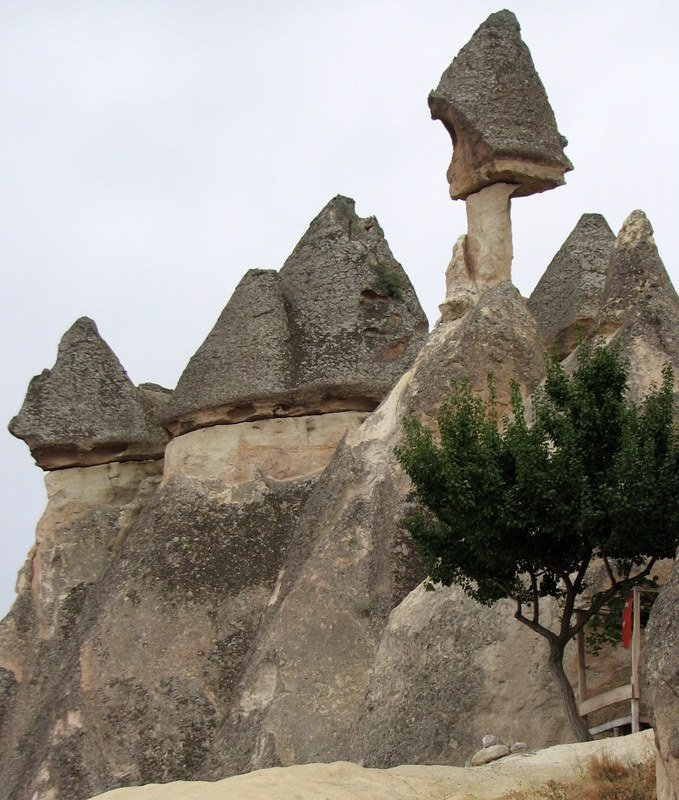 Turkey's Fairy Chimneys & Rock-Carved Churches in Kapadokya