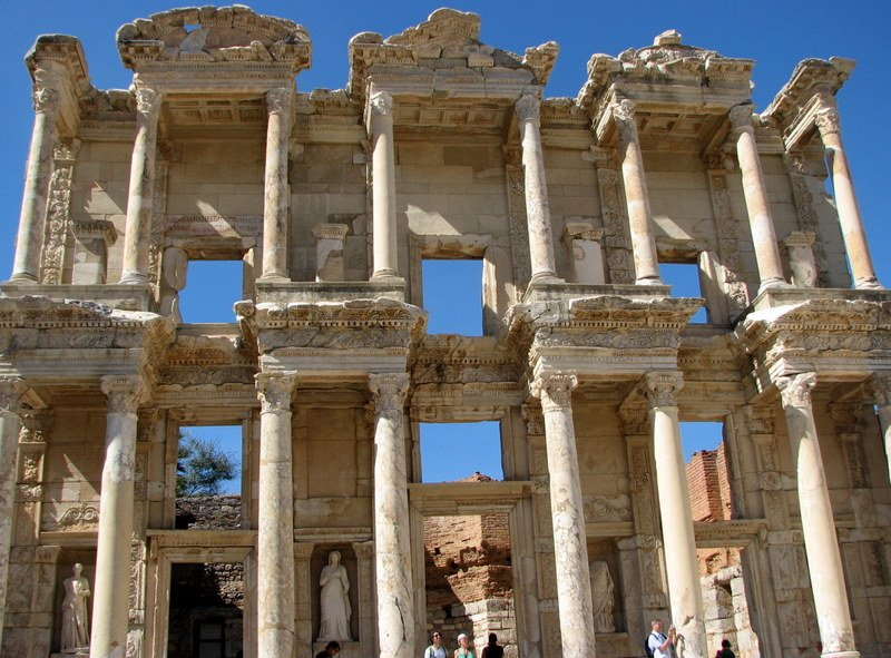 Ephesus, Turkey: Impressive despite sometimes being overrun by large cruise ships