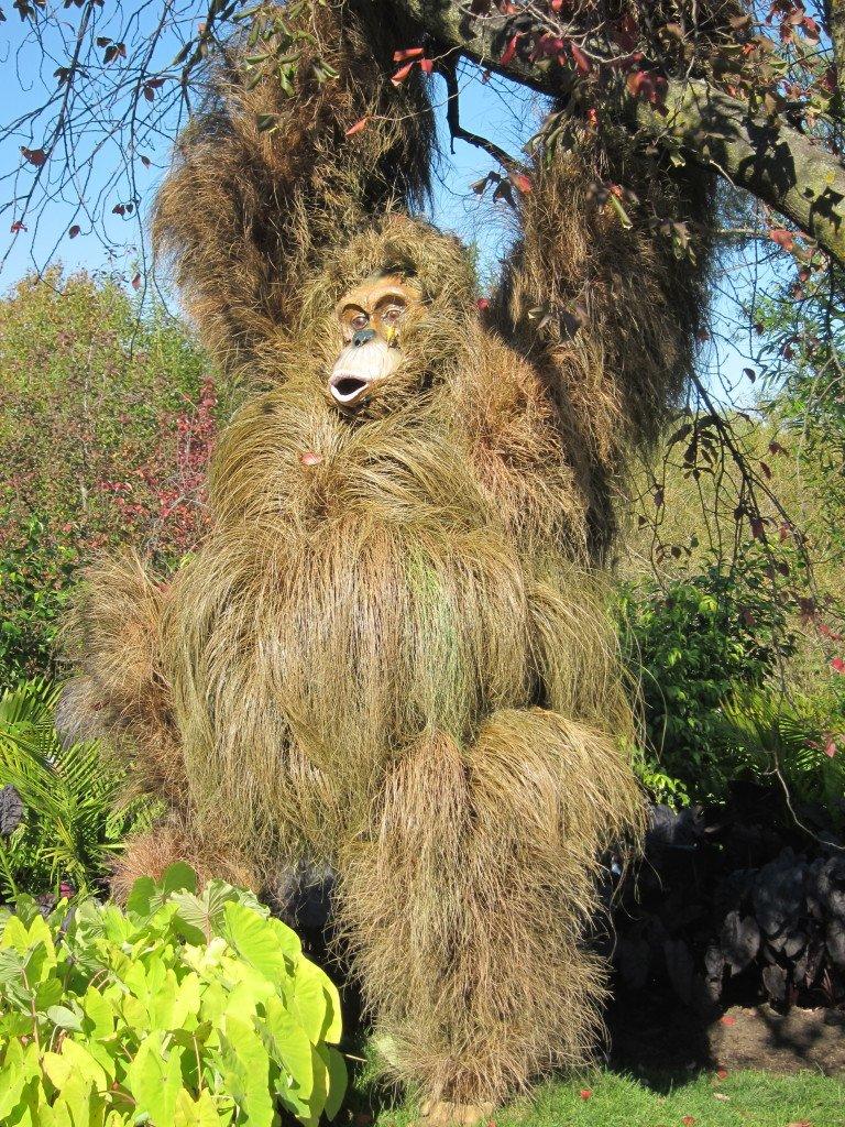 Living Sculptures At The Montreal Botanical Gardens: Orangutan