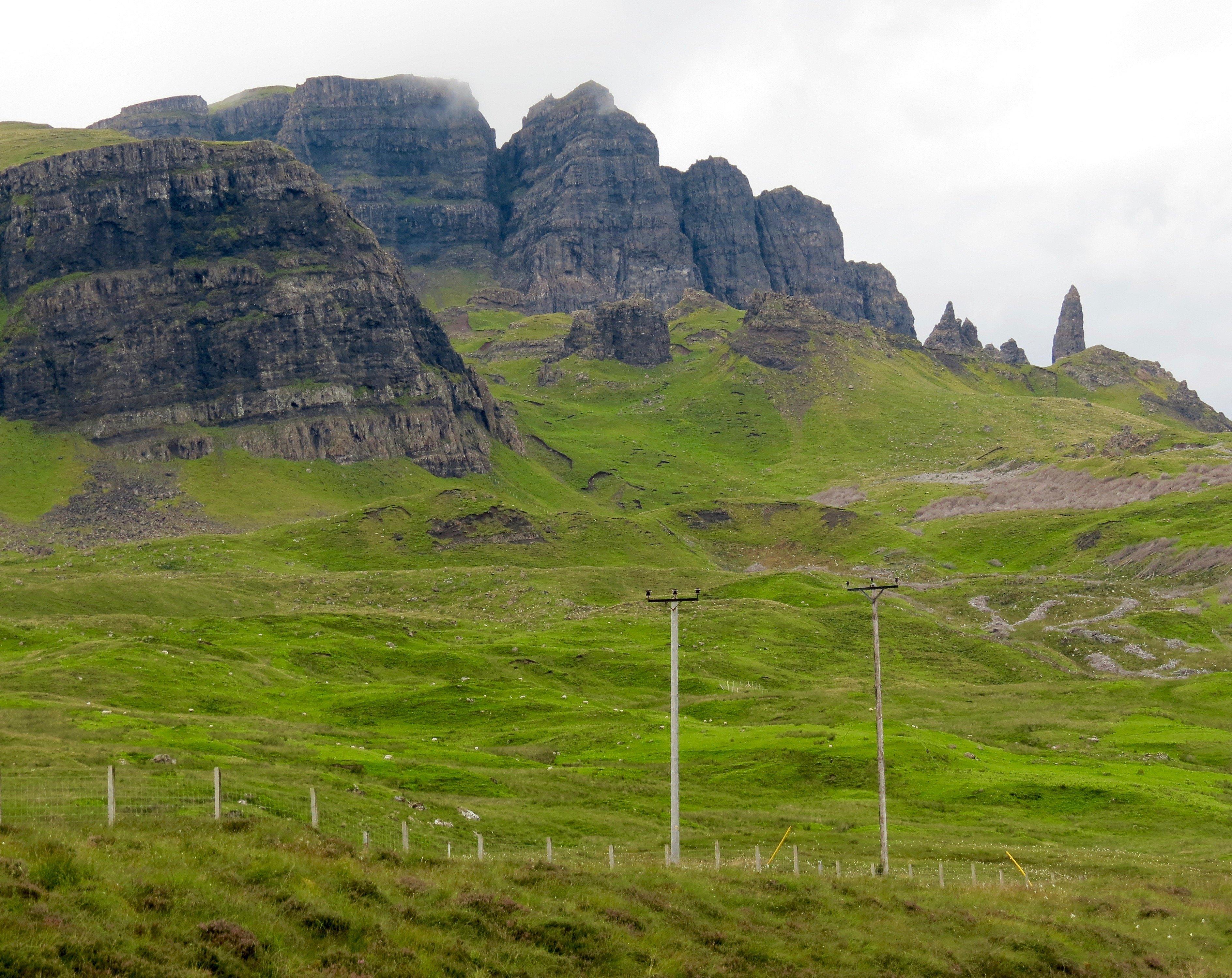 Oban to Isle of Skye in Scotland