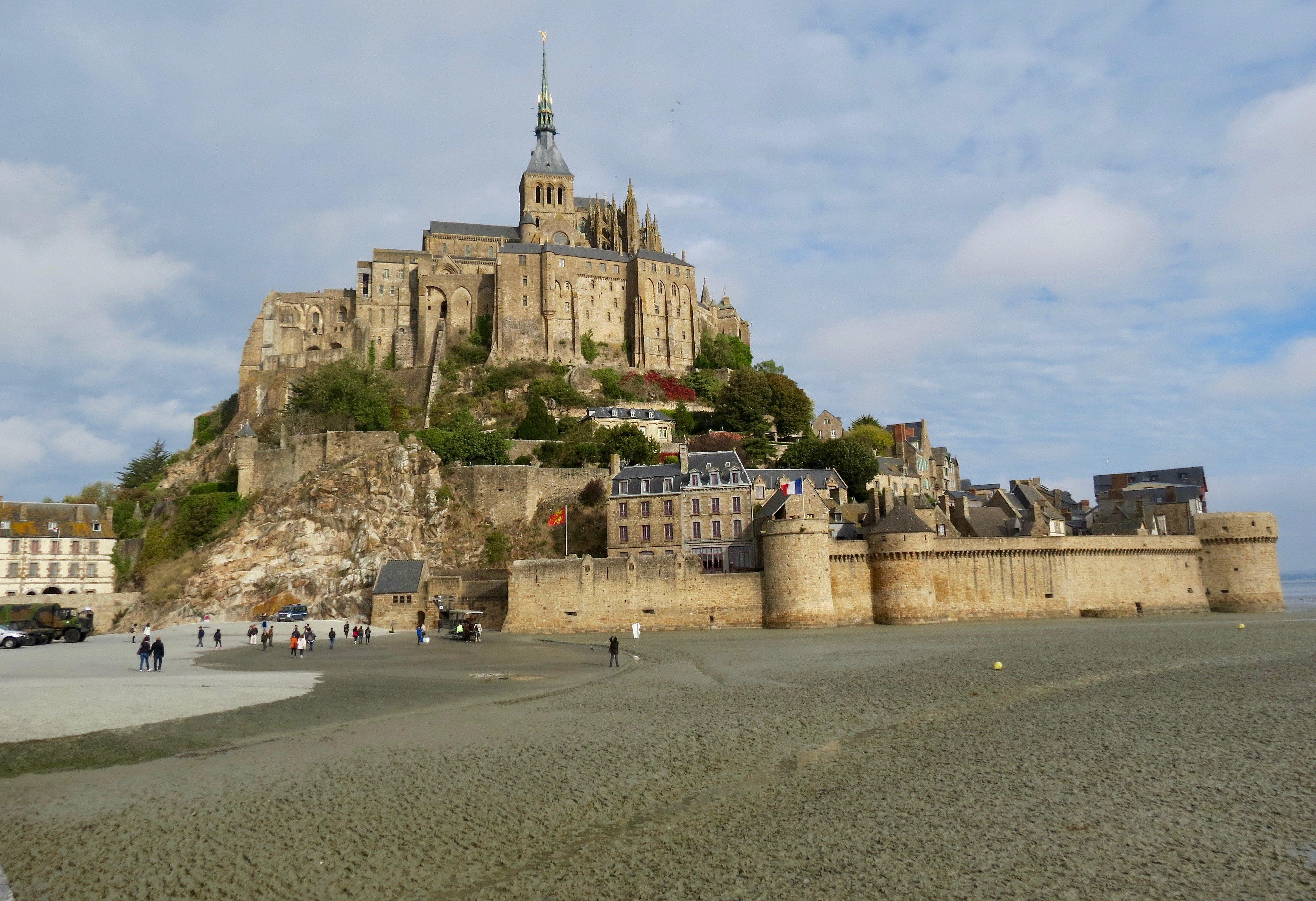 Famous Mont Saint-Michel & Chartres Cathedral–Distant Yet Similar to Each Other