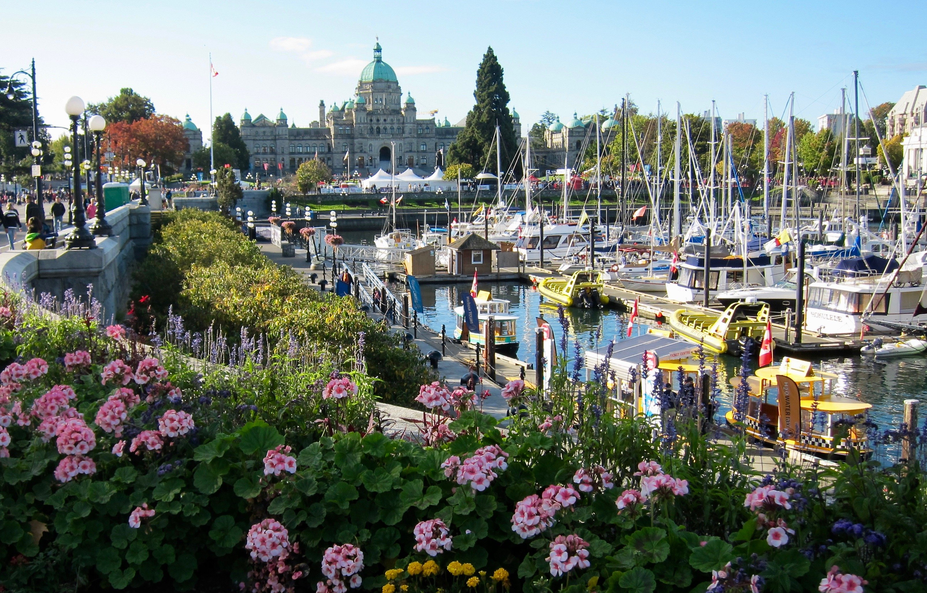 Victoria on Vancouver Island, British Columbia